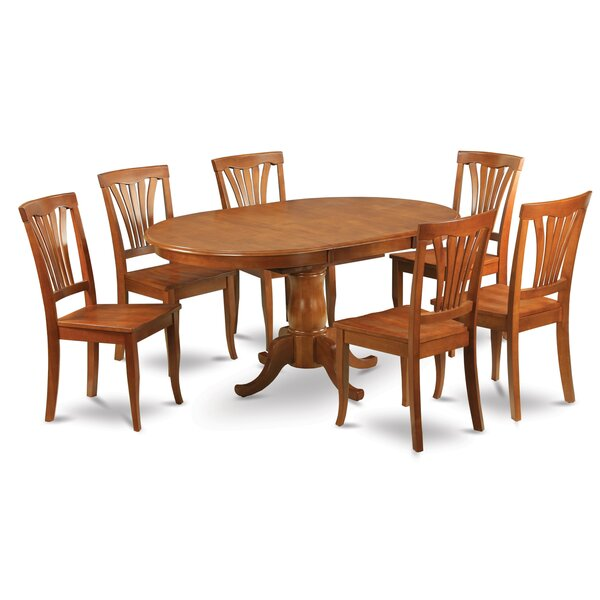 Stella 7 Piece Dining Set by Darby Home Co