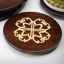 Artisan Woods Morocco Lazy Susan by Martins Homewares
