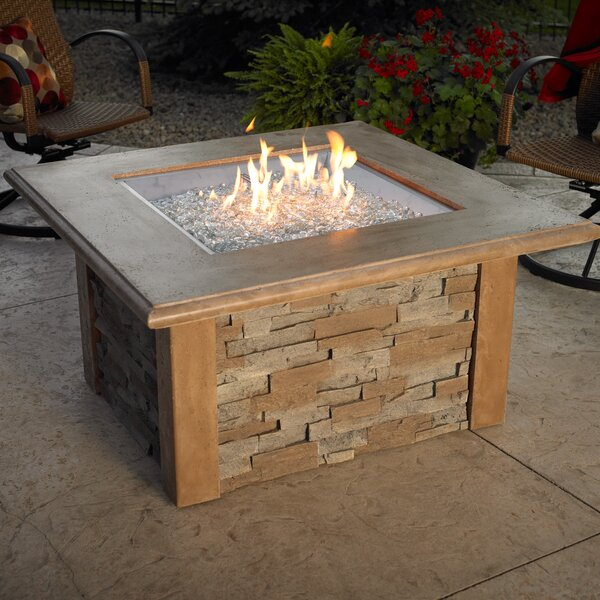 Sierra Gas Firepit Table by The Outdoor GreatRoom Company