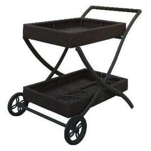 Naples Bar Cart by World Wide Wicker