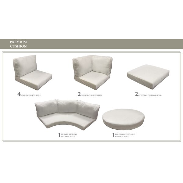 Barbados 21 Piece Outdoor Cushion Set by TK Classics