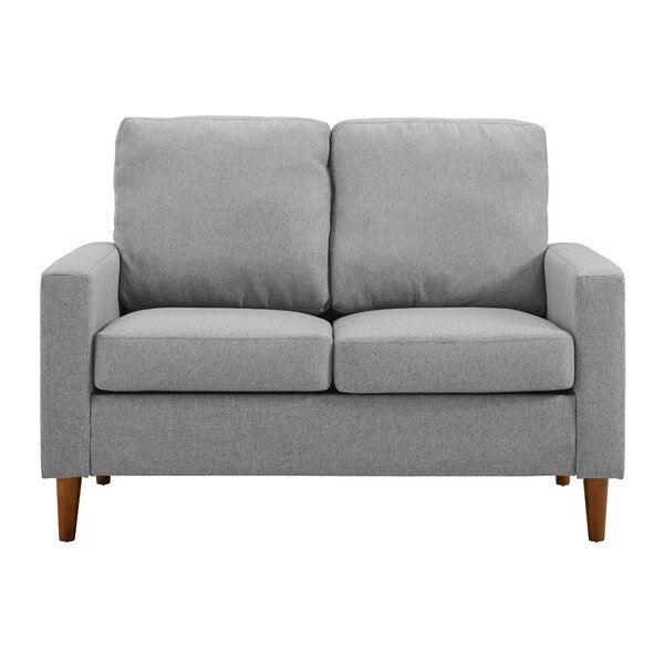 Ernie Apartment Loveseat by Wrought Studio
