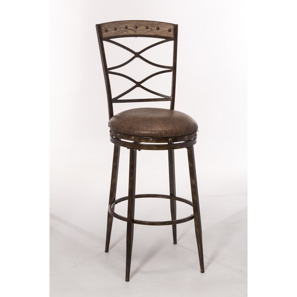 Sam 30 Swivel Bar Stool by 17 Stories