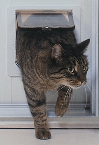 Cat Flap Patio PetDoor by Ideal Pet Products