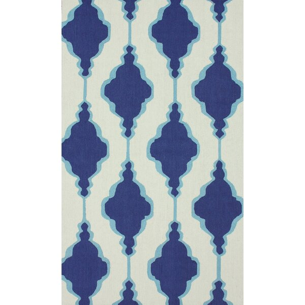 Reva Blue Area Rug by Latitude Run