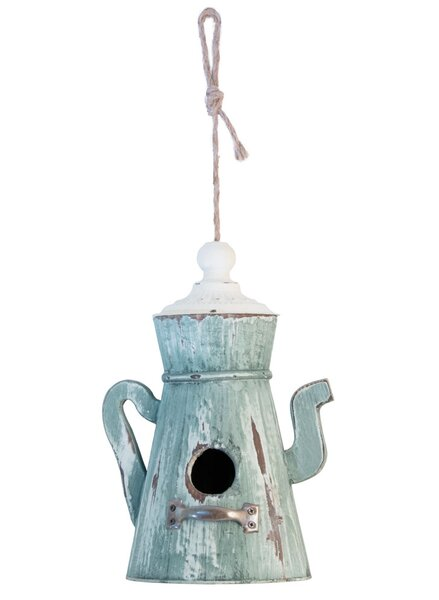 Teapot Garden 25 in x 6 in x 6 in Birdhouse by Boston International