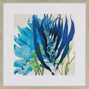 Sea Nature II Framed Painting Print by Paragon