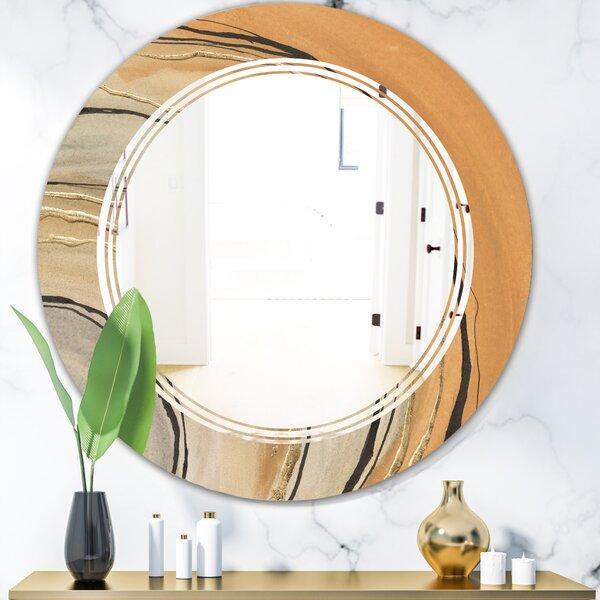 Rainbow Simple Geometric Modern Wall Mirror
