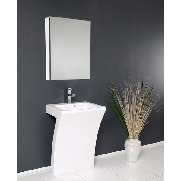 Quadro 23 Single Bathroom Vanity Set with Mirror by Fresca