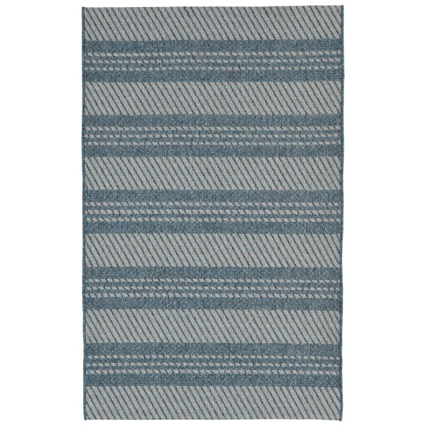 Amalia Blue Indoor/Outdoor Area Rug by Winston Porter