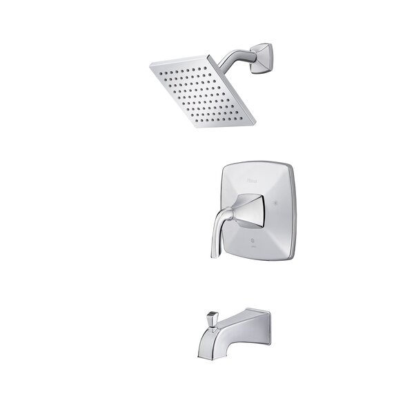 Bronson 1-Handle Thermostatic Tub and Shower Faucet by Pfister