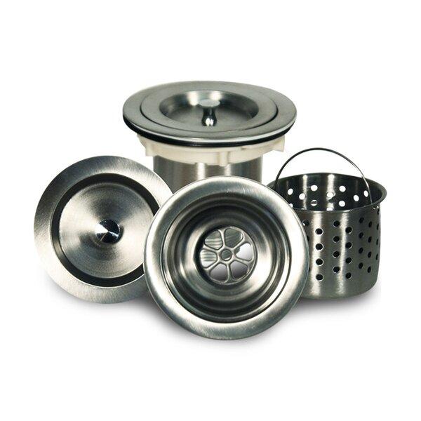 Premium 3.5 Basket strainer Kitchen Sink Drain by Nantucket Sinks