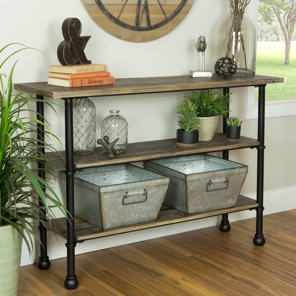 Andree Rectangle Console Table by Williston Forge