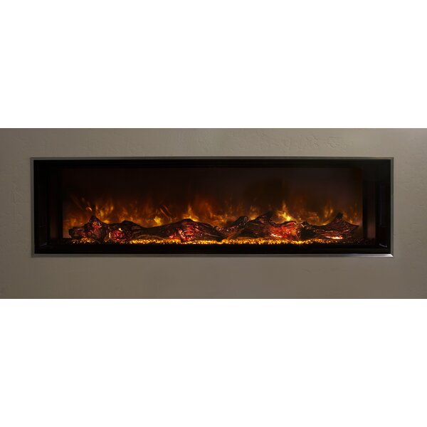 Landscape Full View Series Wall Mounted Electric Fireplace by Modern Flames