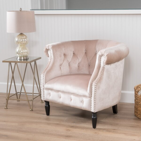 @ Lenita Chesterfield Chair by House of Hampton| #$0.00!