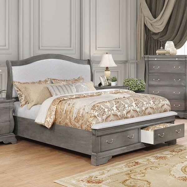 Benner Queen Upholstered Storage Platform Bed by Darby Home Co