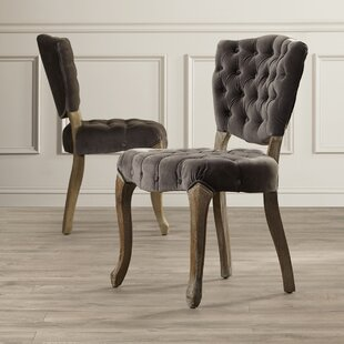 Therrien Upholstered Dining Chair (Set of 2)