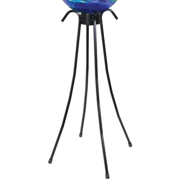 Low Profile Gazing Globe Pedestal Stand by Echo Valley