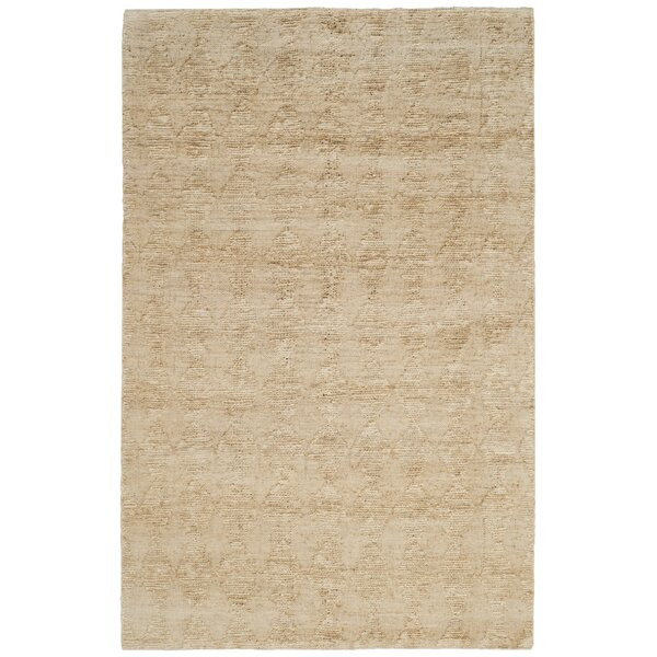 Mercado Hand-Woven Light Beige Area Rug by Union Rustic