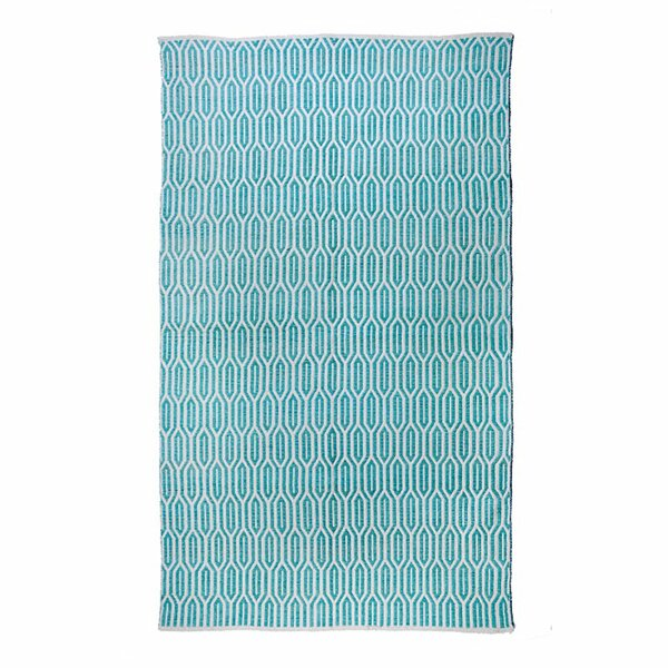 New Ogee Aqua Area Rug by Regence Home