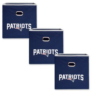 NFL Fabric Storage Bin (Set of 3)