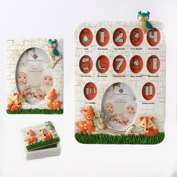 3 Piece Terrie Animals Picture Frame Set by Harriet Bee