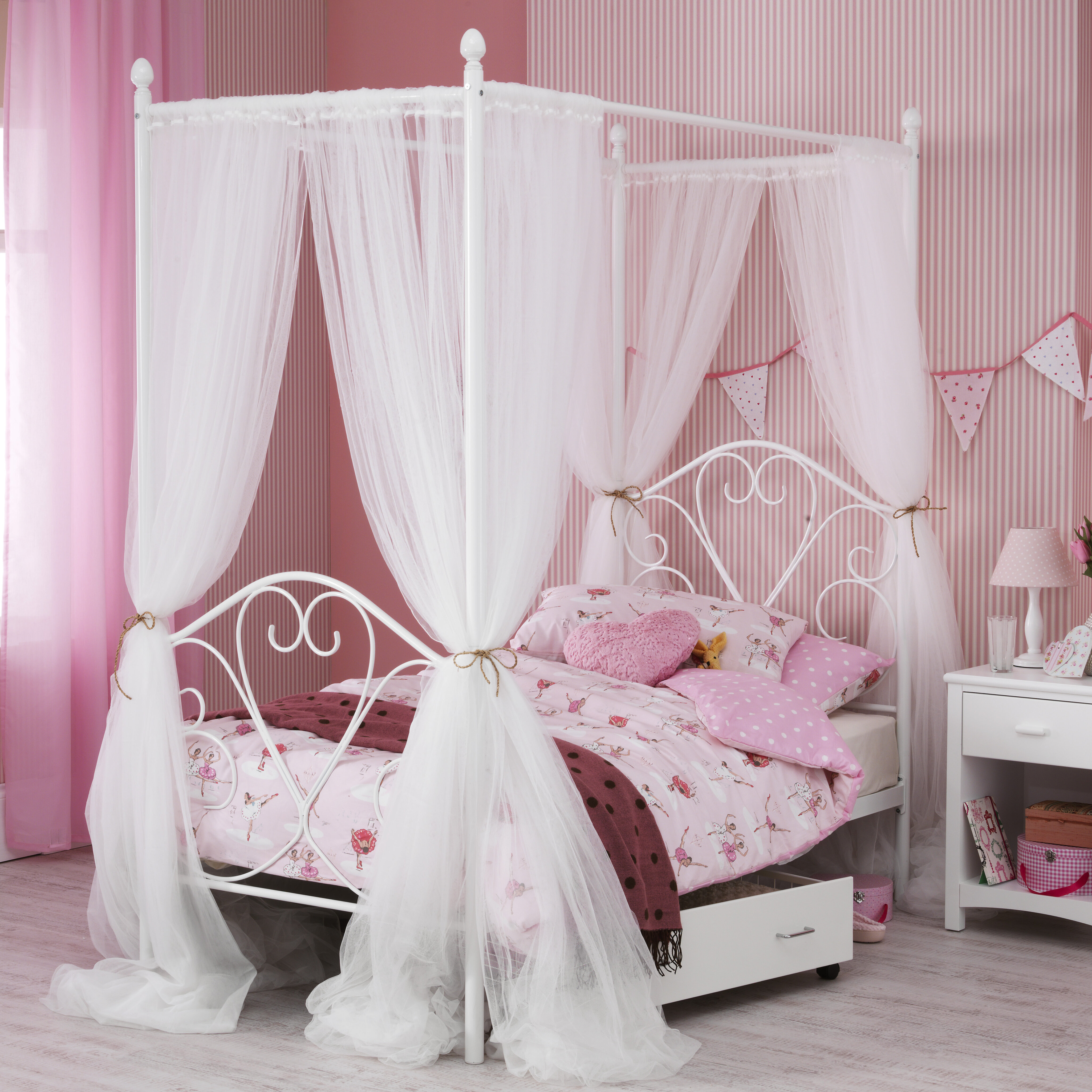 rc bed wood size color four s frame decorifusta your to fancy decorate fabulous smashing black using metal poster drapes canopy encouragement bedroom how