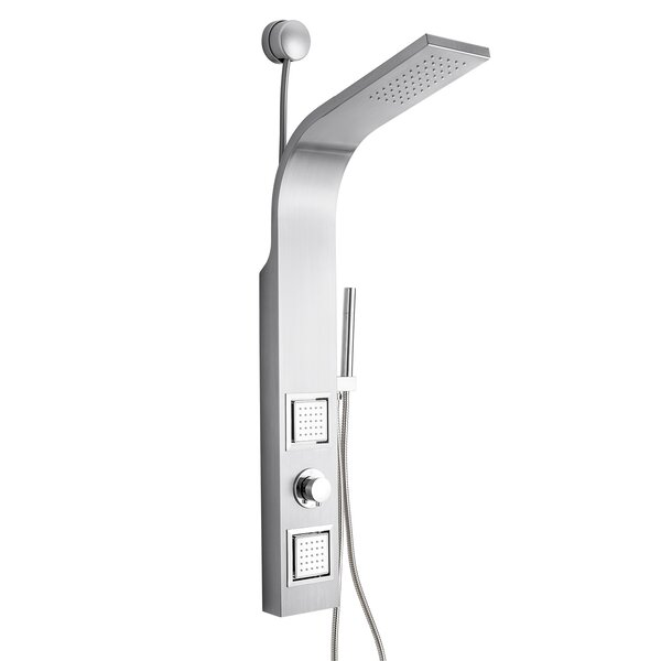 Dual Shower Head Shower Panel - Includes Rough-In