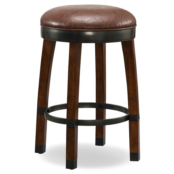 26 Swivel Bar Stool (Set of 2) by Leick Furniture