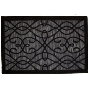 Order Normandy Black Area Rug By Kashi Home