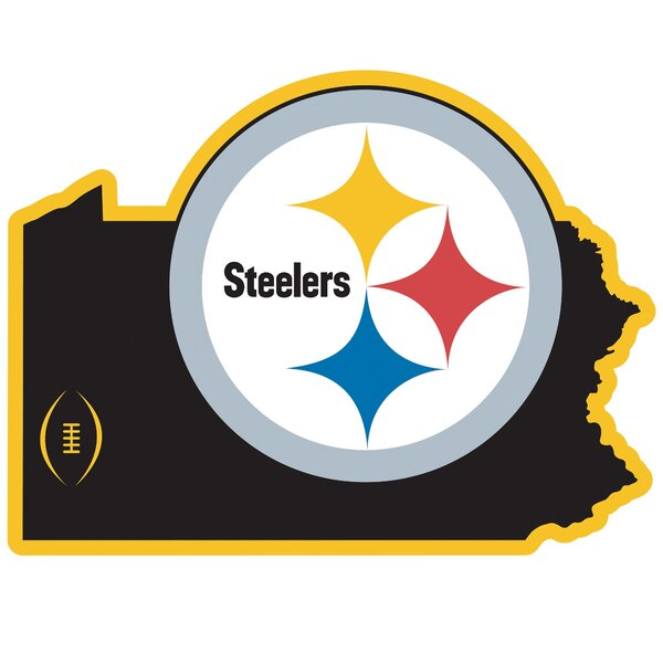 NFL Pittsburgh Steelers Home State Magnet by Siskiyou Products