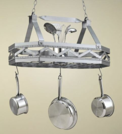 Sonoma 8 Sided Hanging Pot Rack by Hi-Lite