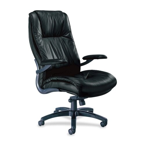 Series 100 Leather Executive Chair by Mayline Group