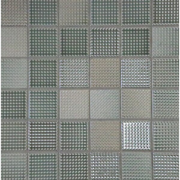 Keijo 2 x 2 Porcelain Mosaic Tile in Umi by Solistone