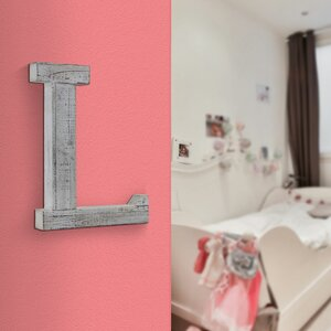 Peregrin Wood Hanging Initial Wall Letters by One Allium Way
