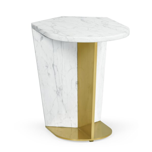 Fusion End Table By Jonathan Charles Fine Furniture