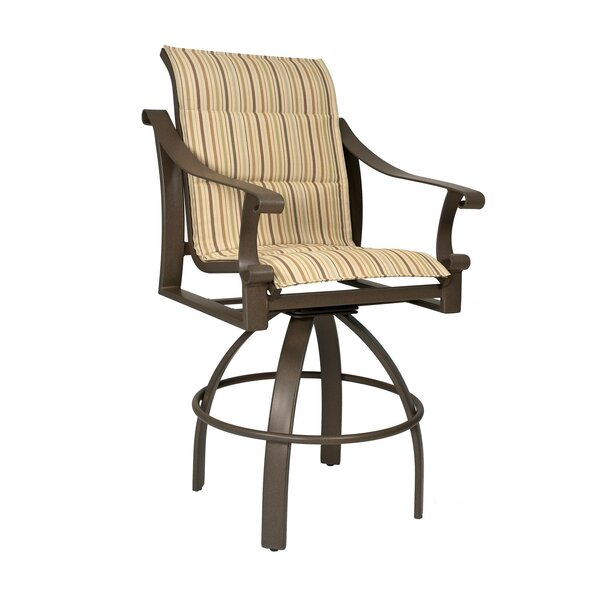 Bungalow 29 Swivel Patio Bar Stool by Woodard