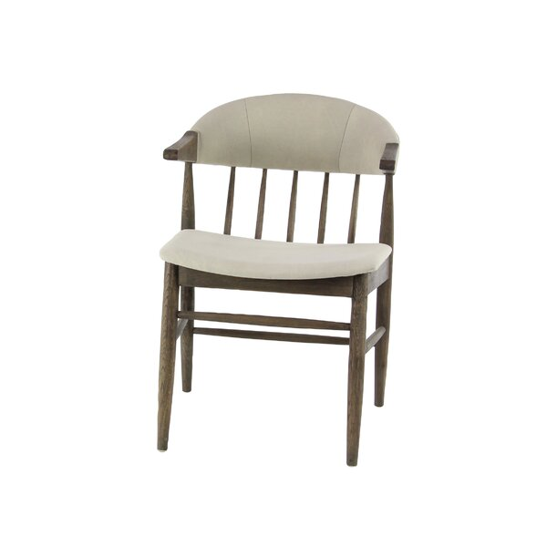 Abigail Traditional Solid Wood Dining Chair by Union Rustic