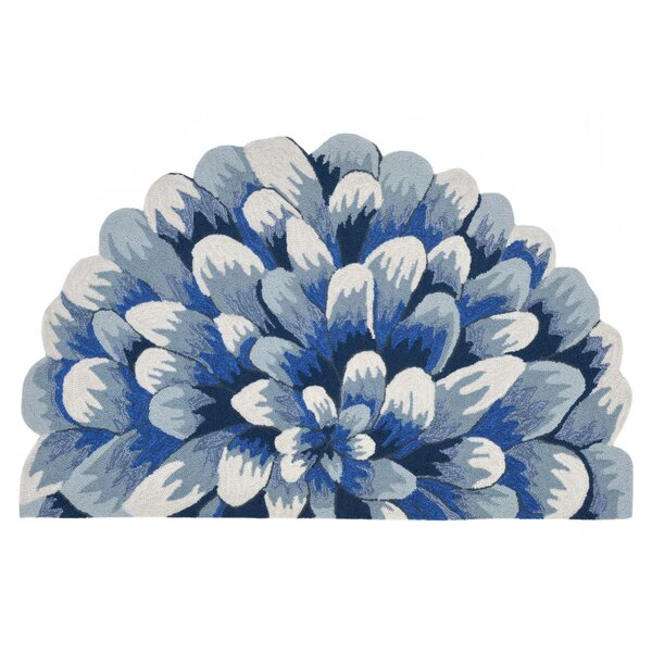 Ismay Hand-Tufted Blue Indoor/Outdoor Area Rug by August Grove