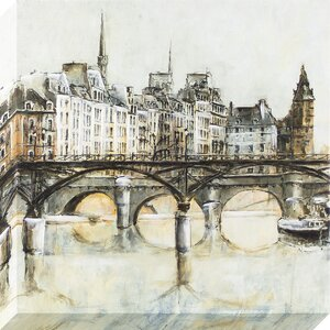 European Bridges Painting on Wrapped Canvas by Ophelia & Co.