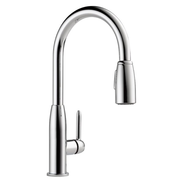 Apex Pull Down Single Handle Kitchen Faucet by Peerless Faucets