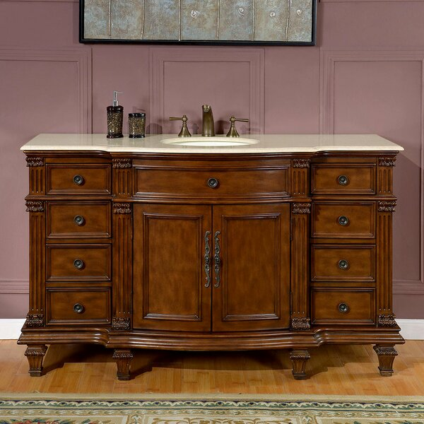 Brennen 60 Single Bathroom Vanity Set by Fleur De Lis Living