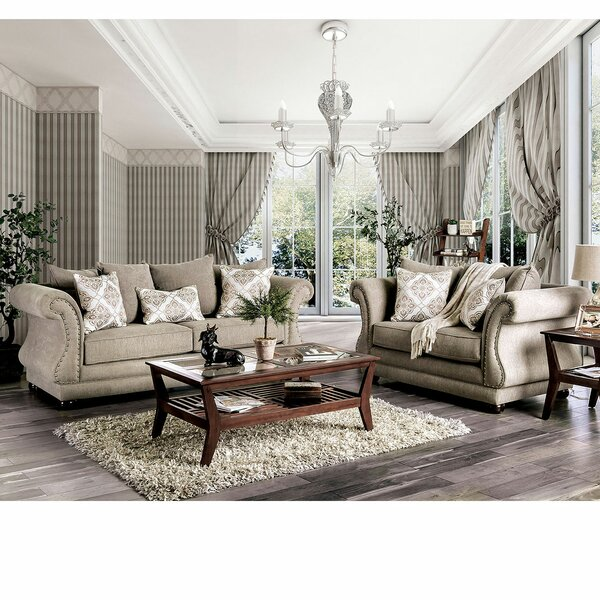 Steinberg 2 Piece Living Room Set by Canora Grey Canora Grey