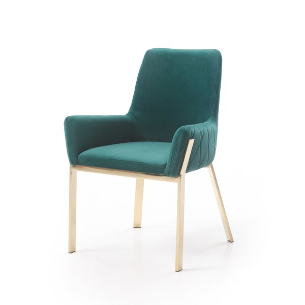 Skye Upholstered Dining Chair by Orren Ellis