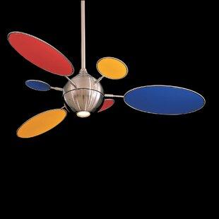 Best 1 Ceiling Fan Blade (Set of 6) By Minka Aire