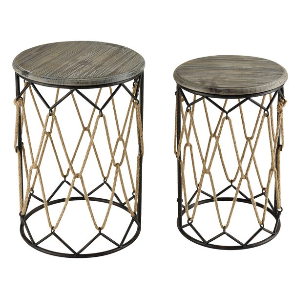 Schulte 2 Piece Nesting Tables By Highland Dunes