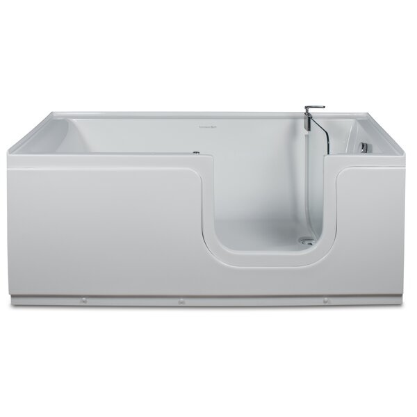 Aquarite 59 x 30 Step-In Air Bathtub by Homeward Bath