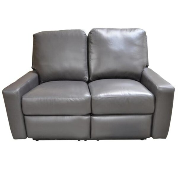 Mirage Reclining Loveseat by Omnia Leather