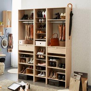 Budget Byron Shoe Storage Cabinet By Rebrilliant