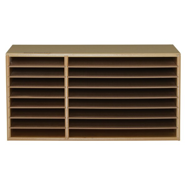 16 Compartment Shelving Unit by Childcraft